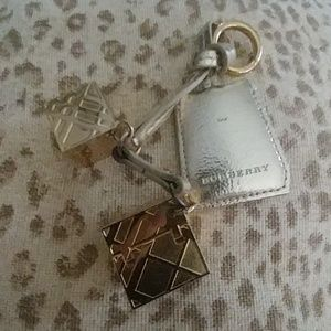 Burberry purse charm/keychain